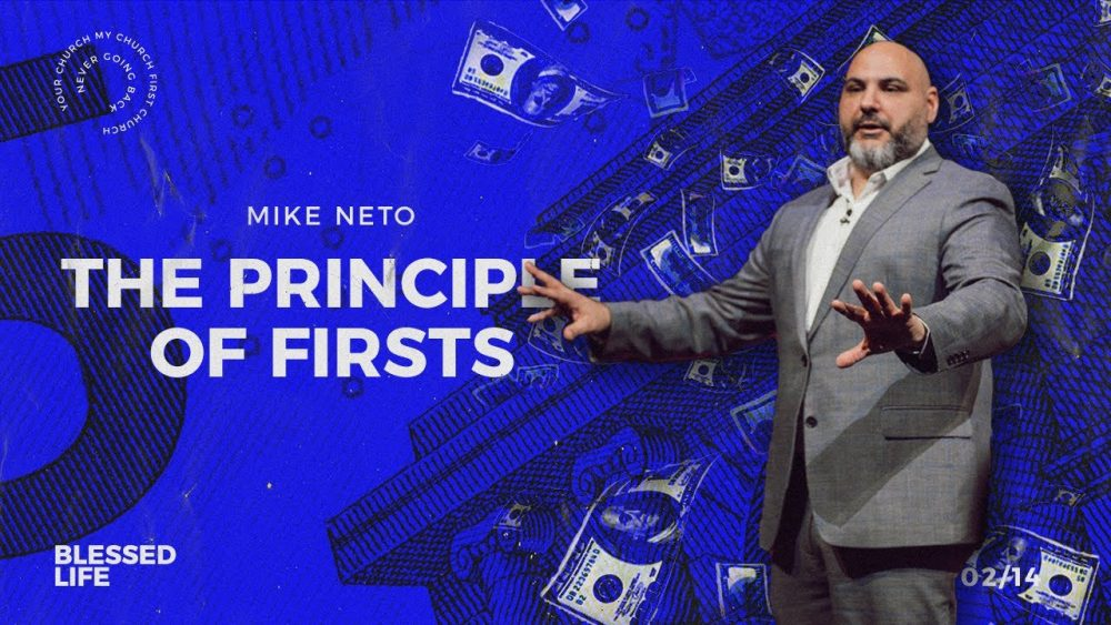 The Principle of Firsts