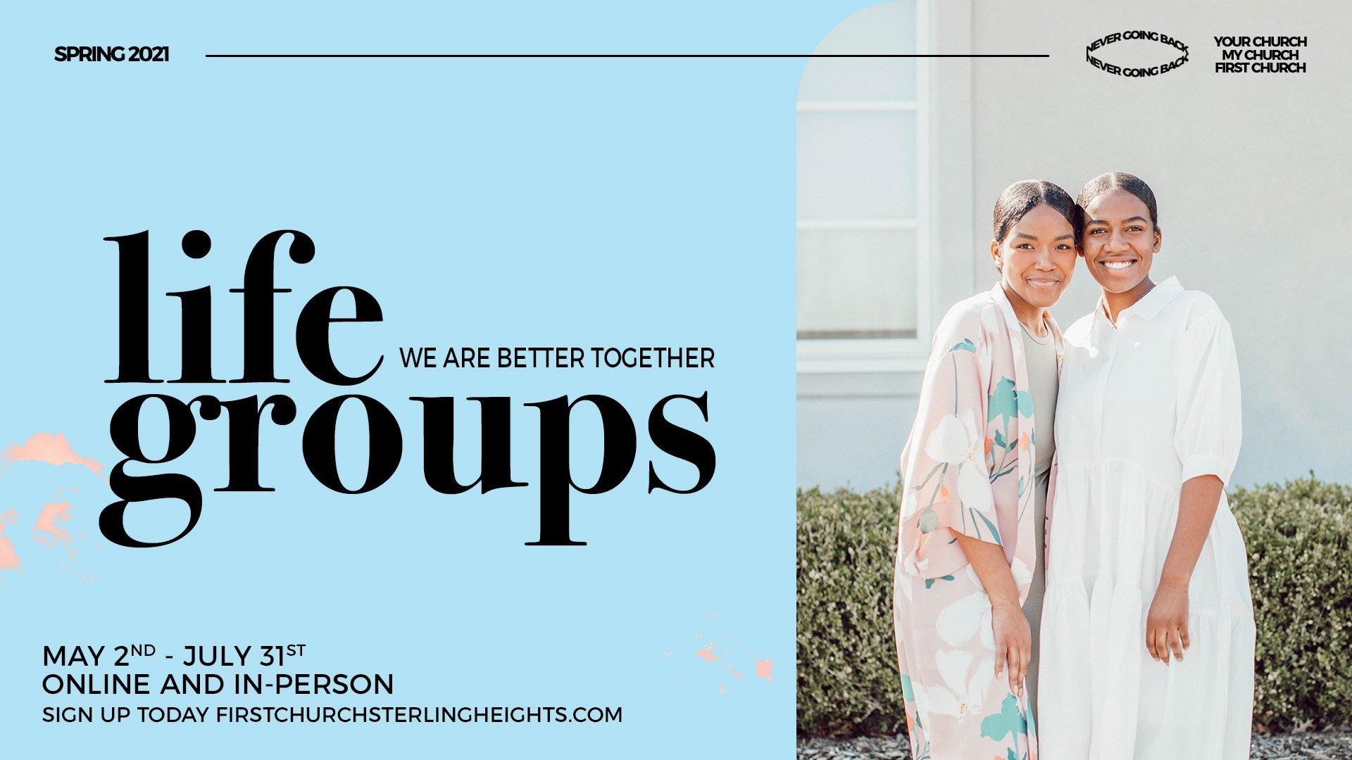 Fall 2020 Life Groups